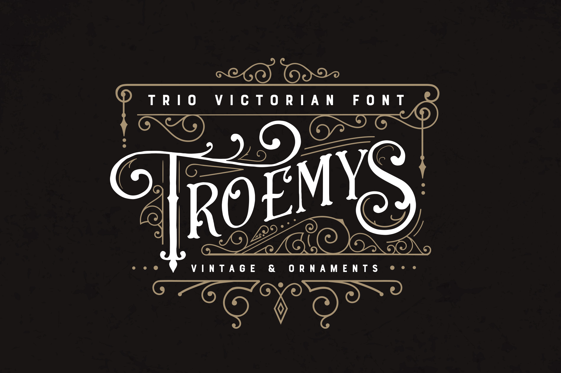 Troemys Font Trio and extras example image 1