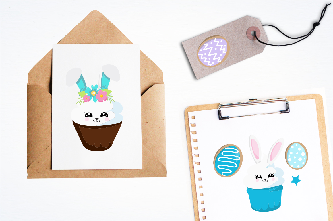 Easter Bunny graphic and illustrations example image 3
