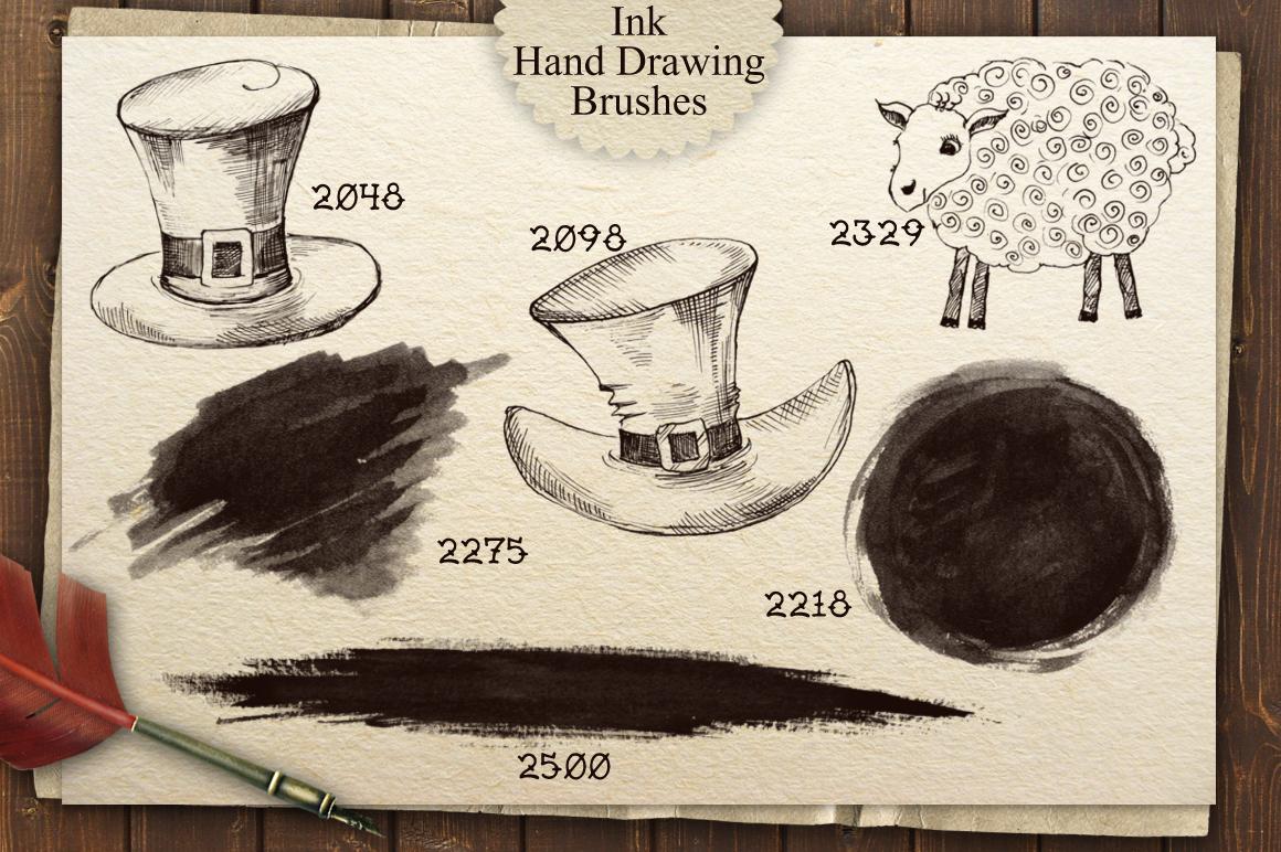 Irish Pub Ink Vintage PS Brushes example image 4
