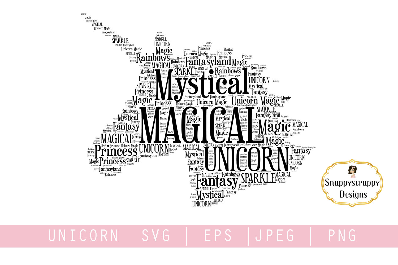 Unicorn SVG example image 1
