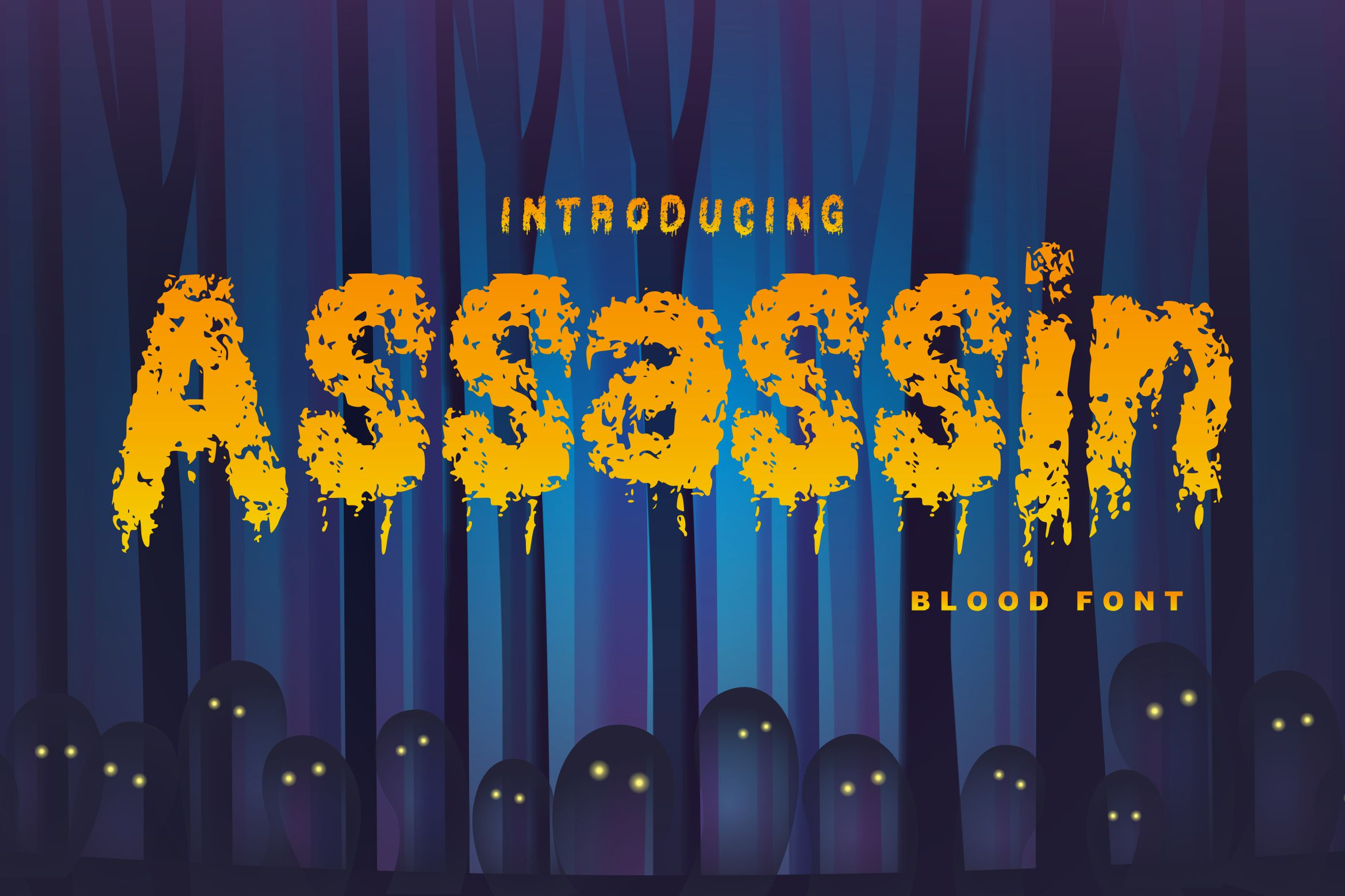 Assassin | Decorative Blood Font example image 1