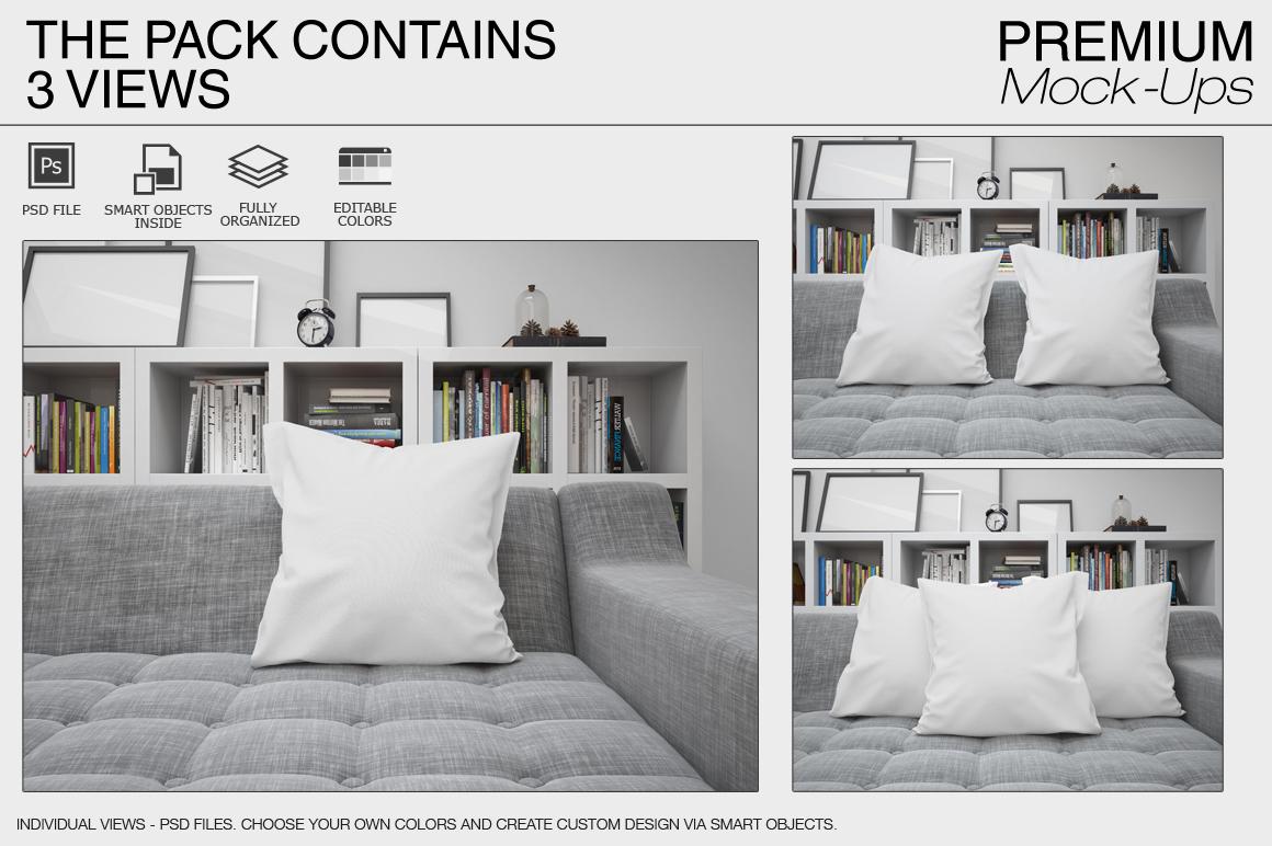 Pillows Mockup Set example image 11