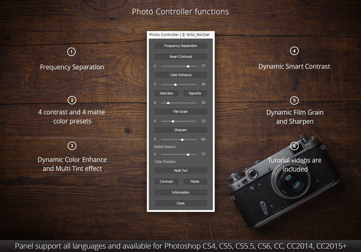 Photo Controller Panel example image 2