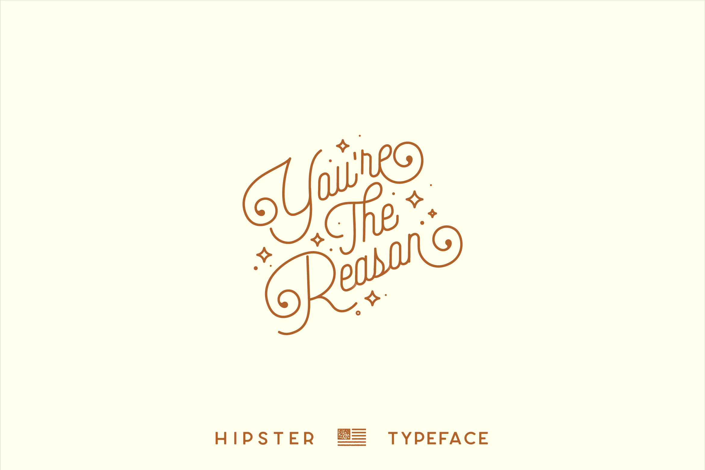 Hipster Style Script and Sans Typeface example image 7