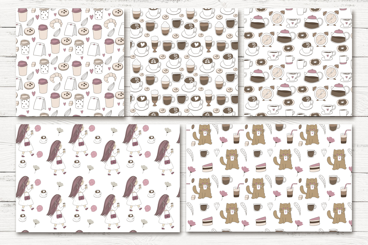 Cute coffee clipart example image 7