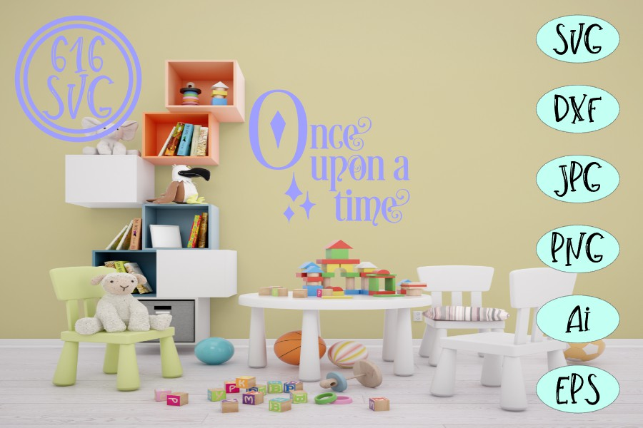 Once upon a time SVG example image 2