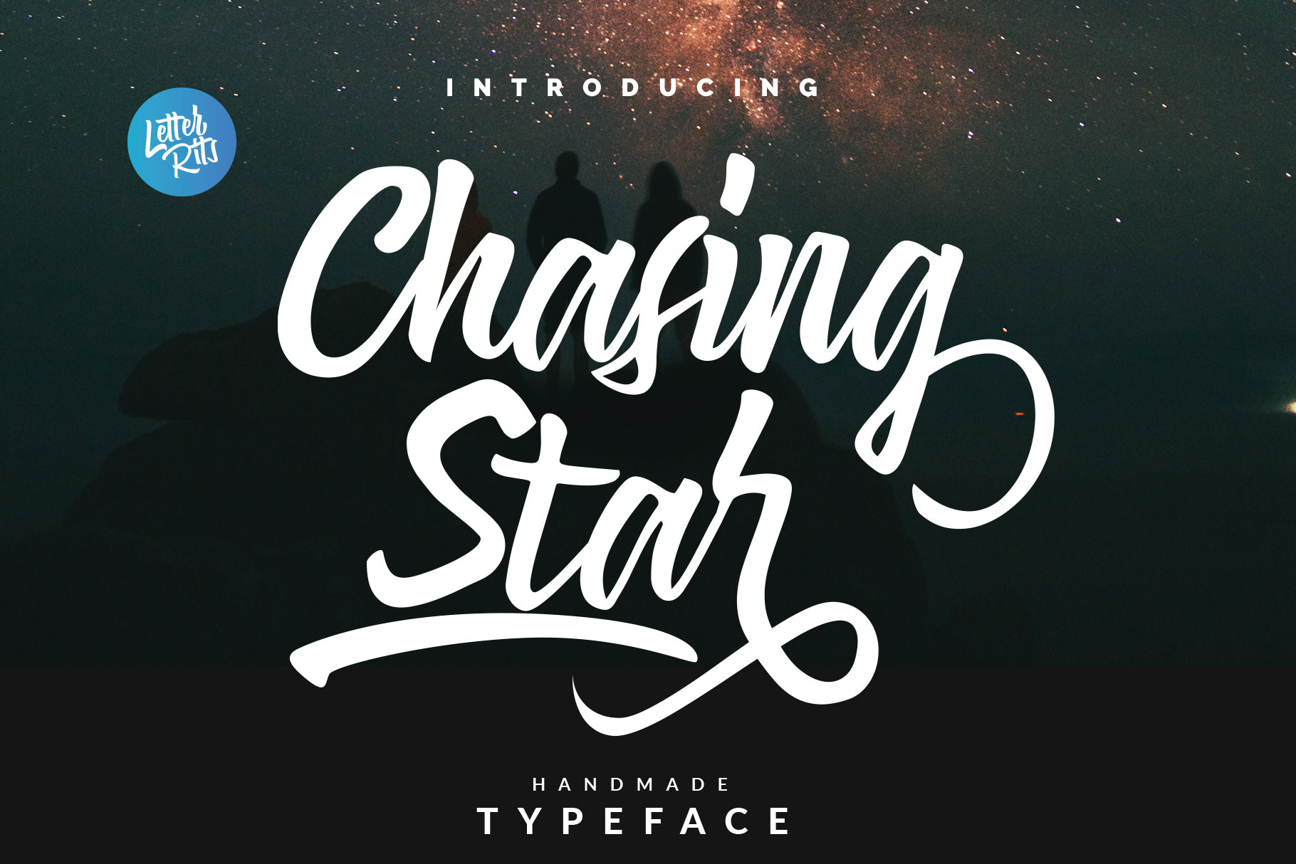 Chasing Start Font example image 1