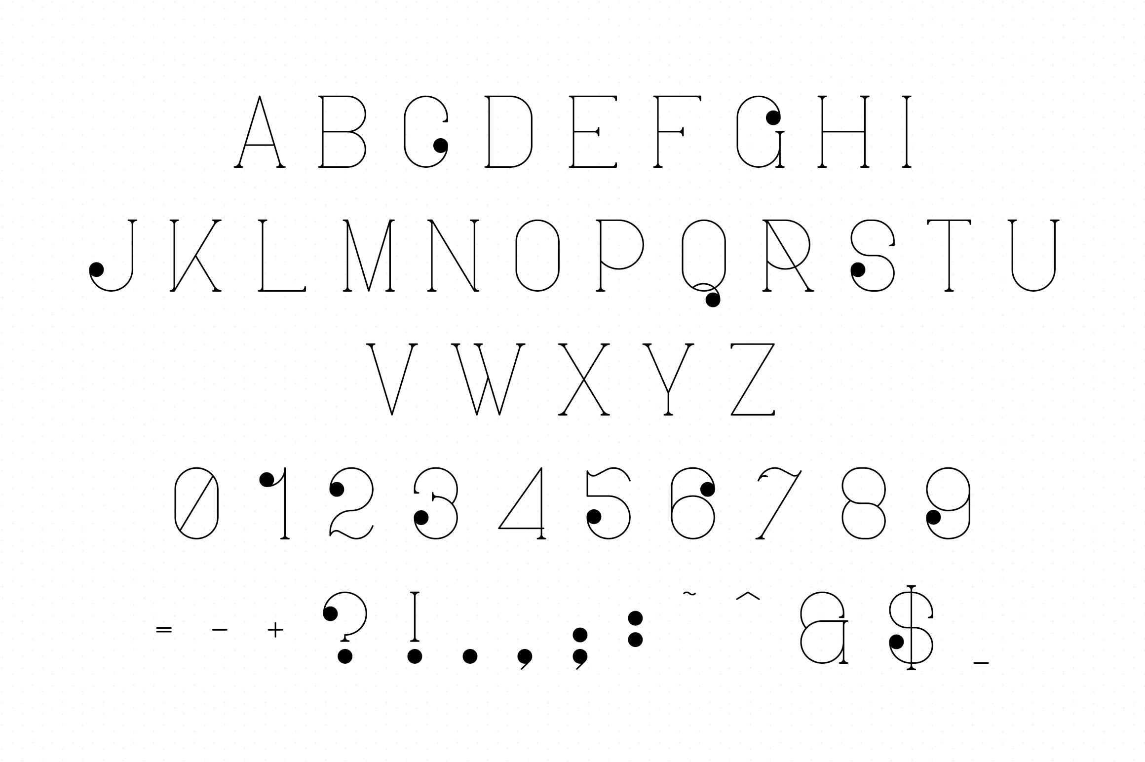 Ravenside-high end trio font example image 12