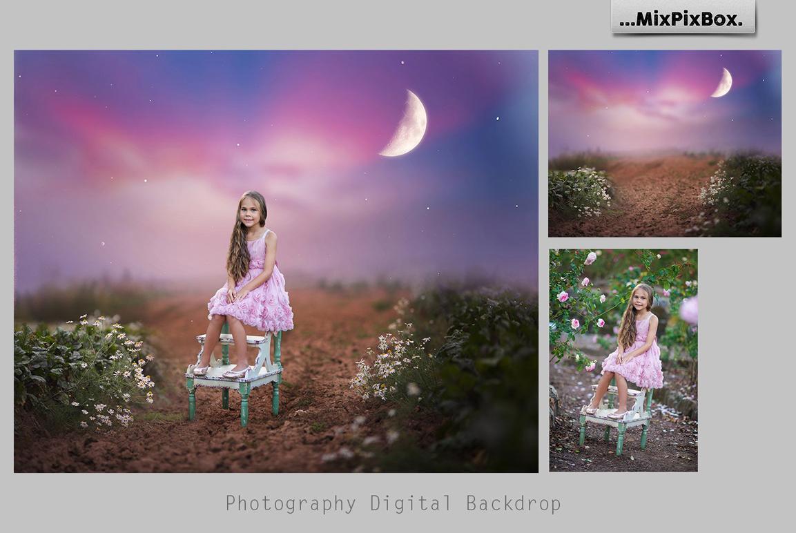 Magic Night Backdrops example image 3
