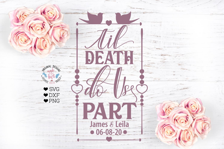 Til Death Do Us Part - Wedding Cut File example image 2