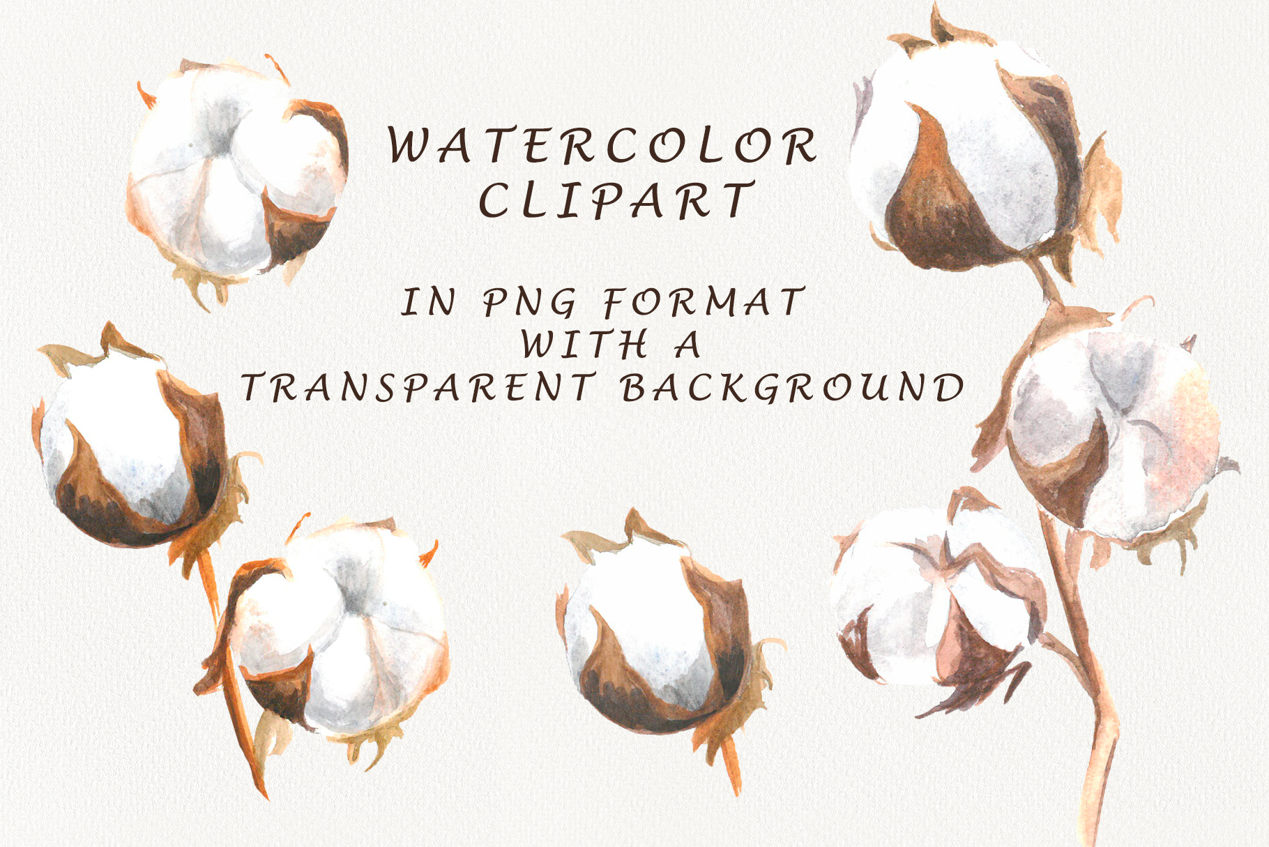 Watercolor cotton example image 3