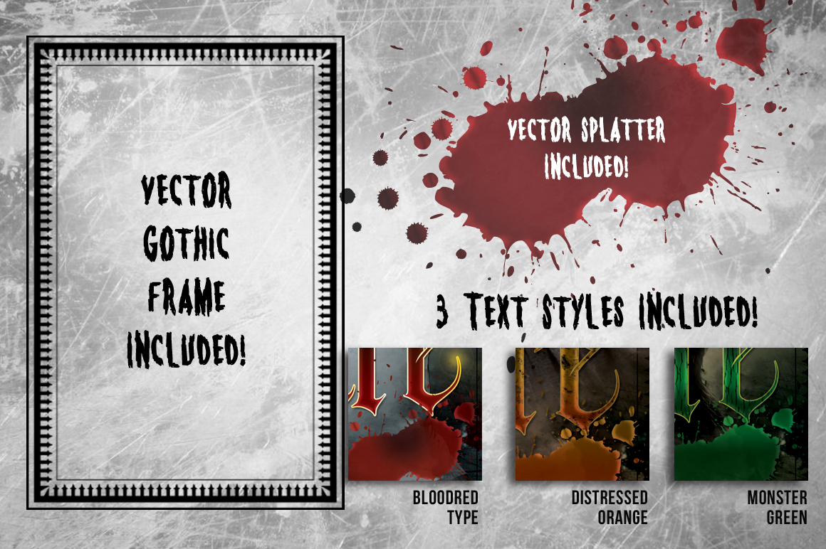 3 Halloween Horror Flyer Bundle example image 2