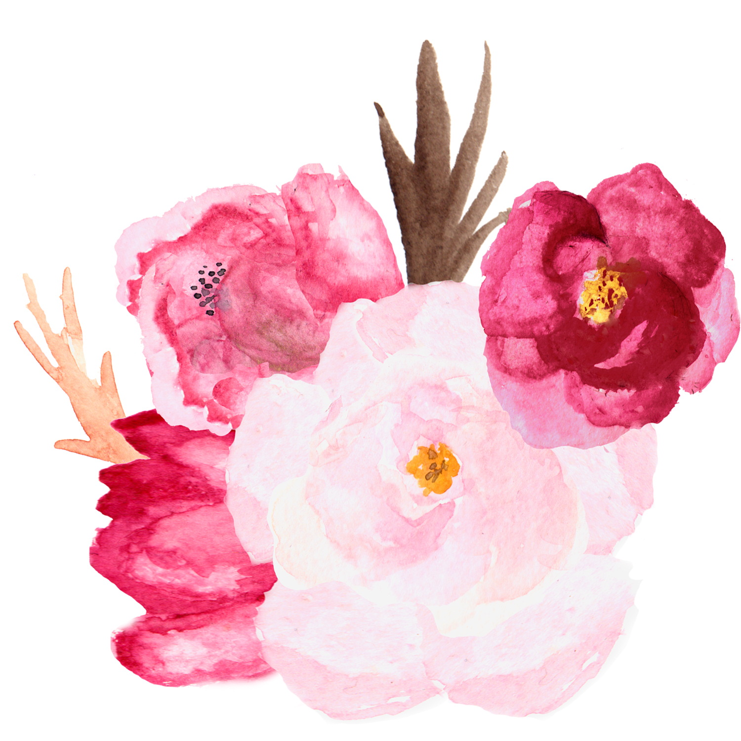 Watecolor Roses example image 2
