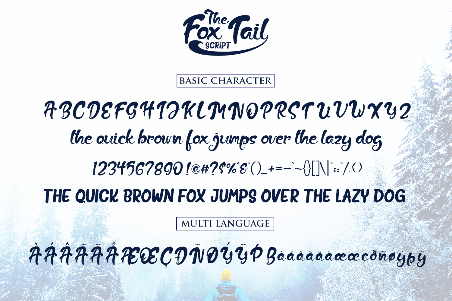The Fox Tail - Font Duo&Extras example image 6