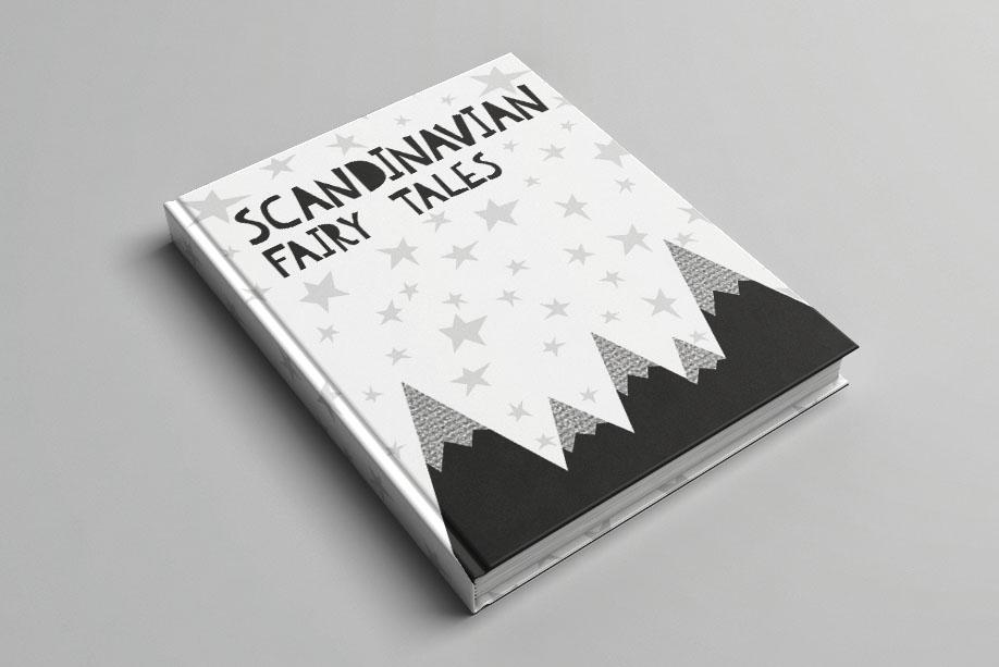 Scandinavian kids font & patterns example image 9