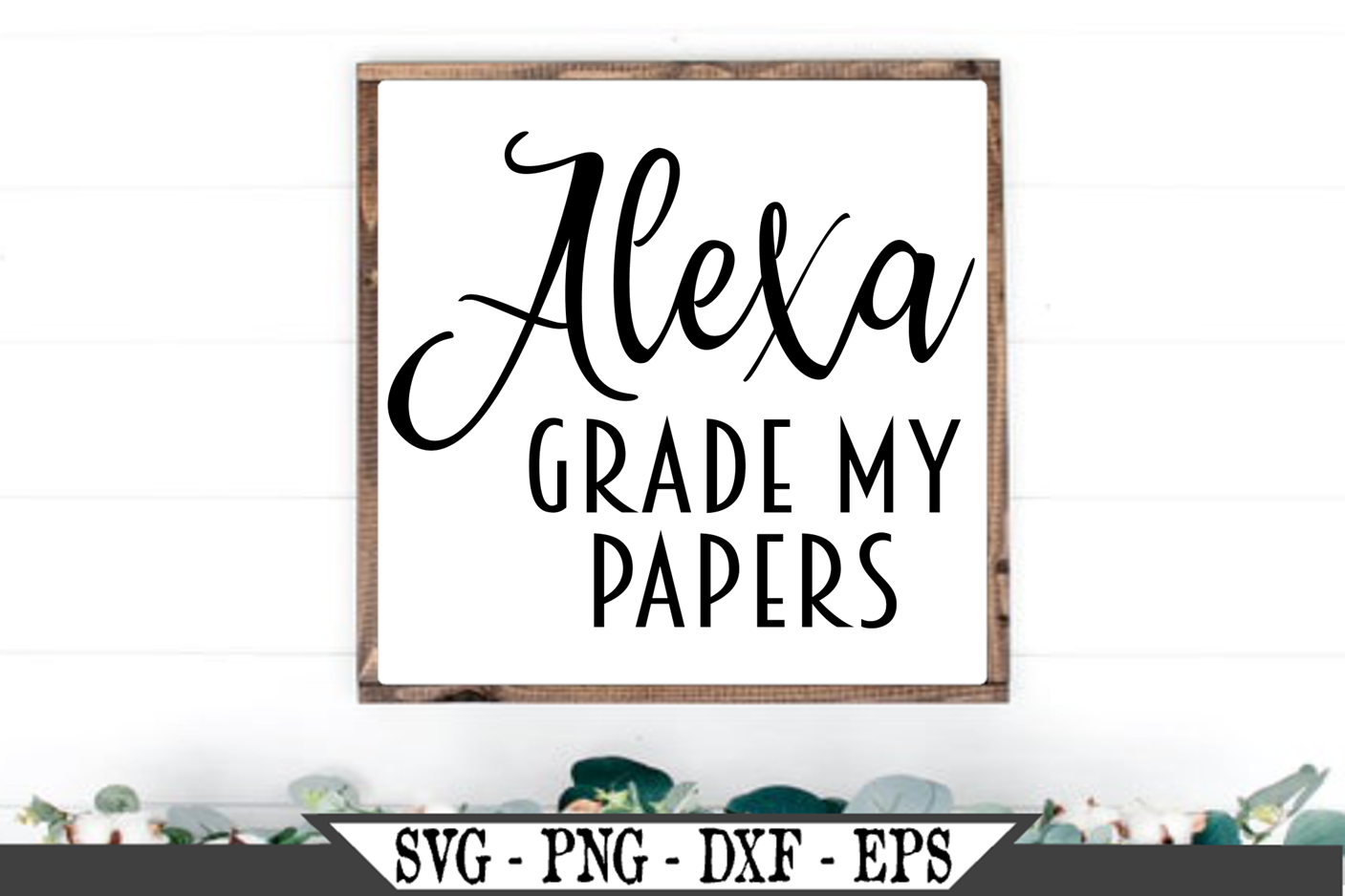 Alexa Grade My Papers SVG example image 1