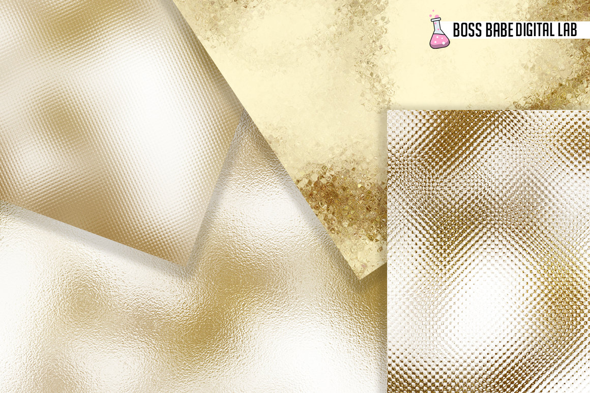 Gold and Bronze Autumn Foil Textures example image 2