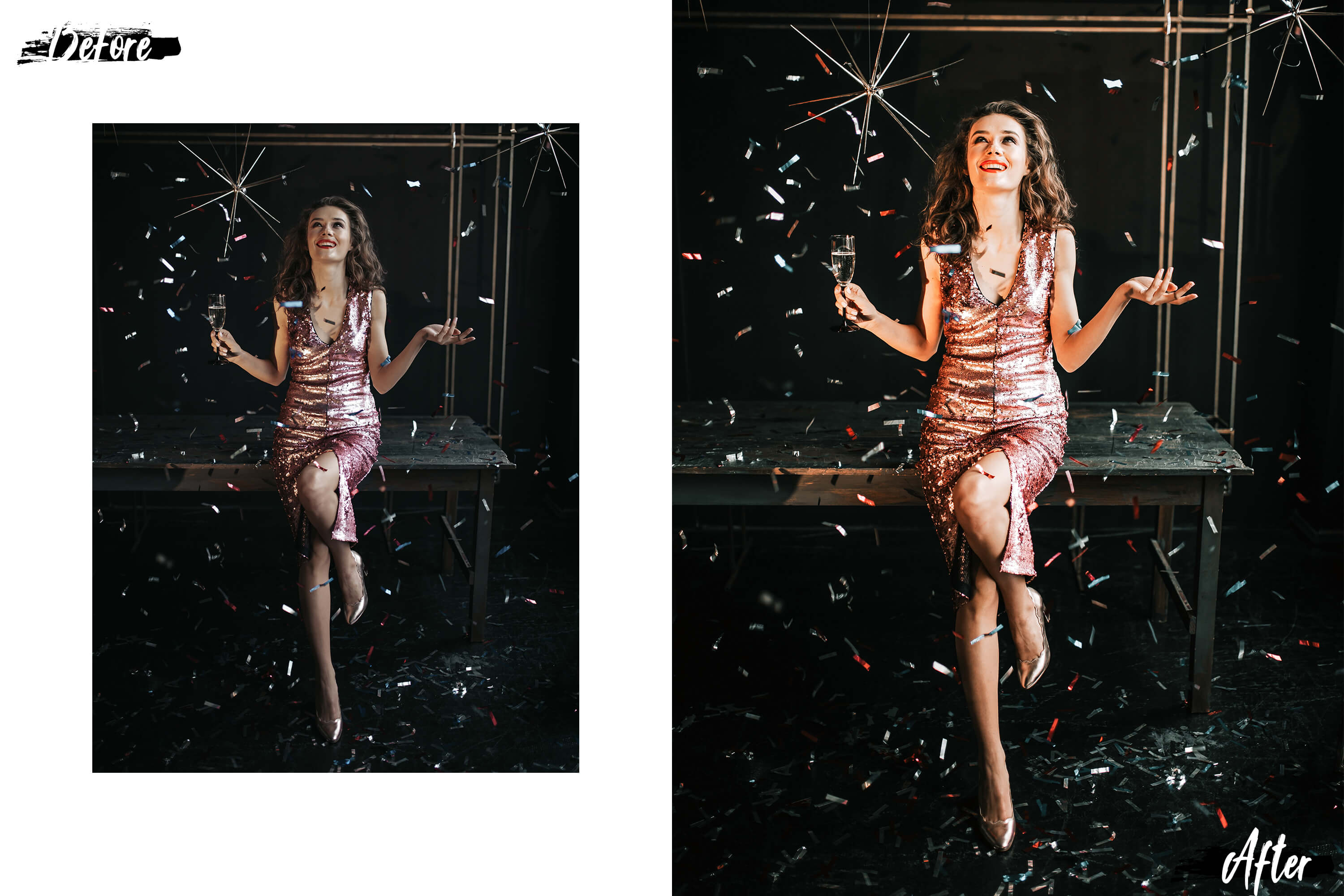 05 Christmas Eve Photoshop Actions, ACR and LUT presets example image 2