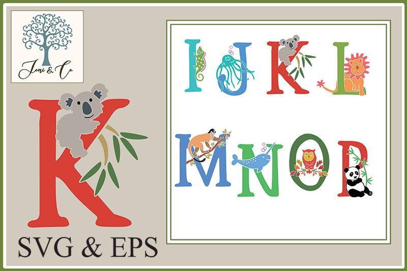 Children's Illustrated Animal Alphabet example image 3