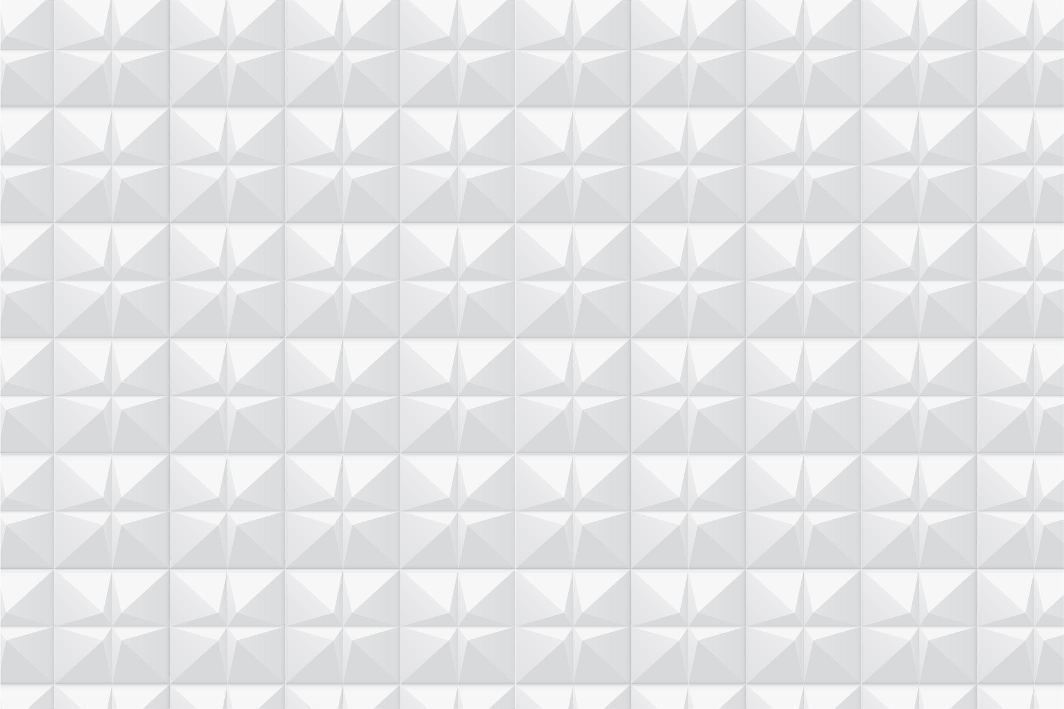 White geometric 3d seamless textures example image 12