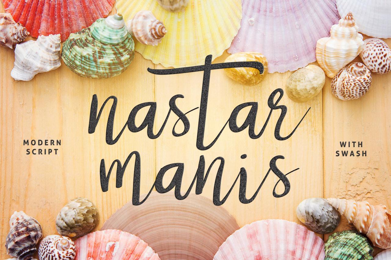 Nastar Script + Swash example image 1