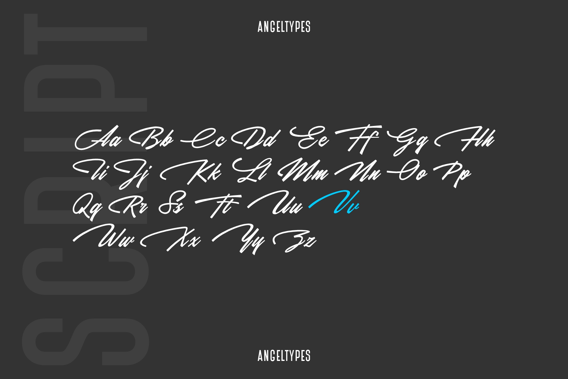 Angeltypes Dual Font example image 10