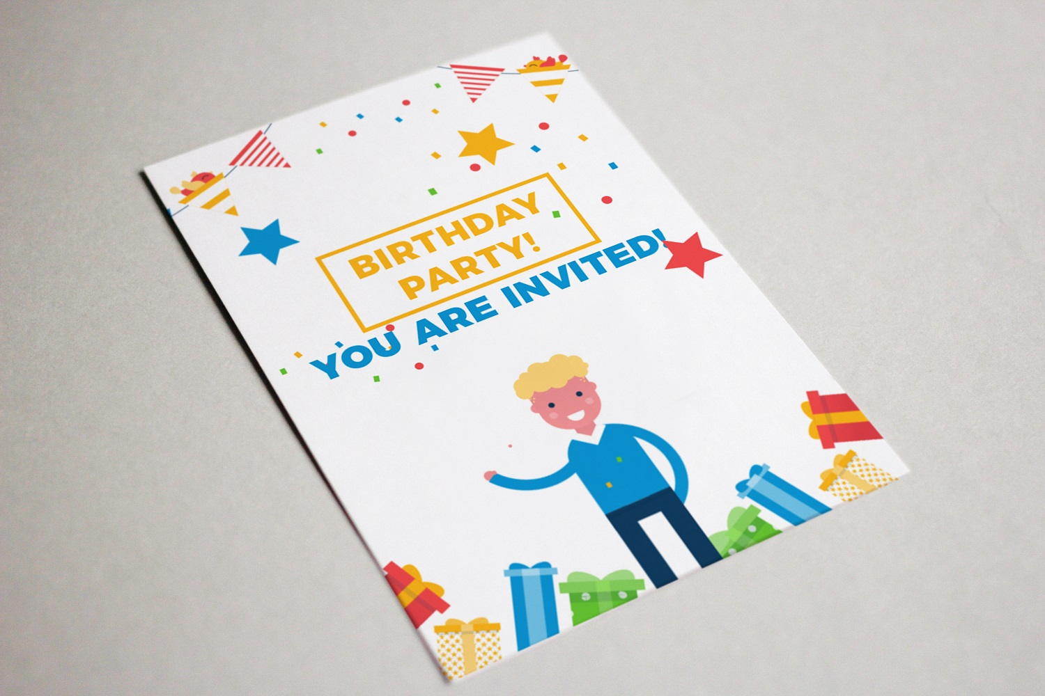 Its a birthday party vector illustration pack example image 5
