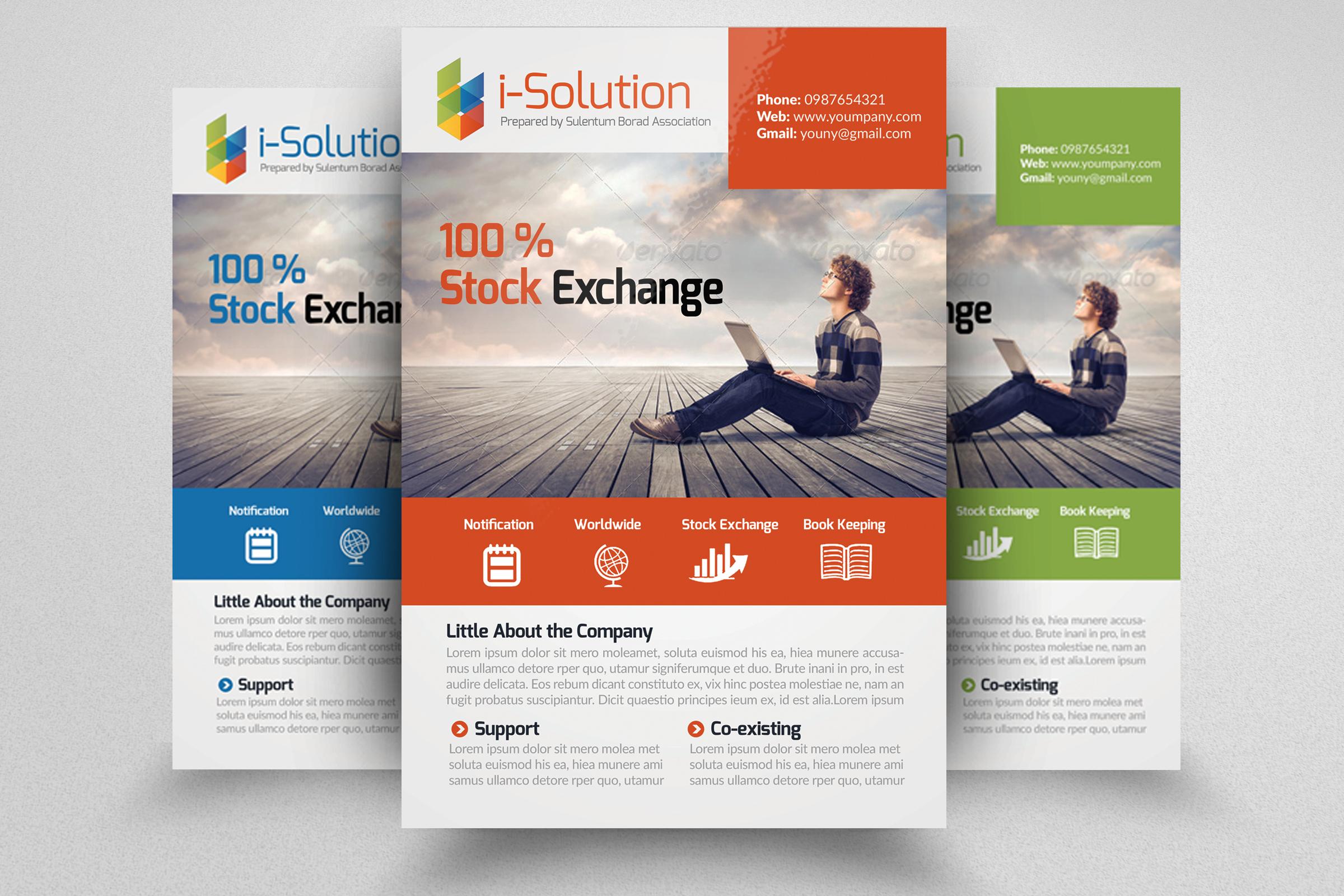 7 Business Flyers Bundle example image 7