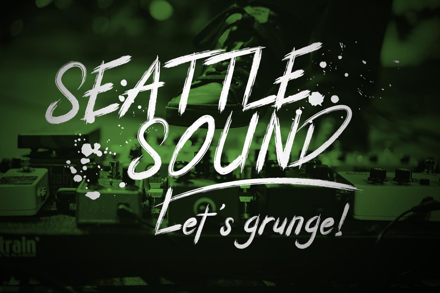 Granite Brush Font example image 6