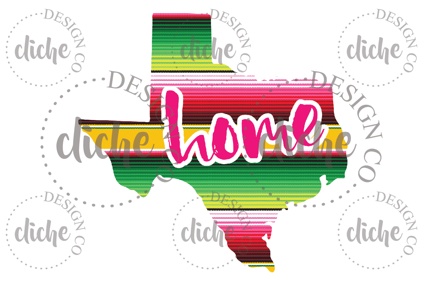 Texas Sublimation Design example image 1