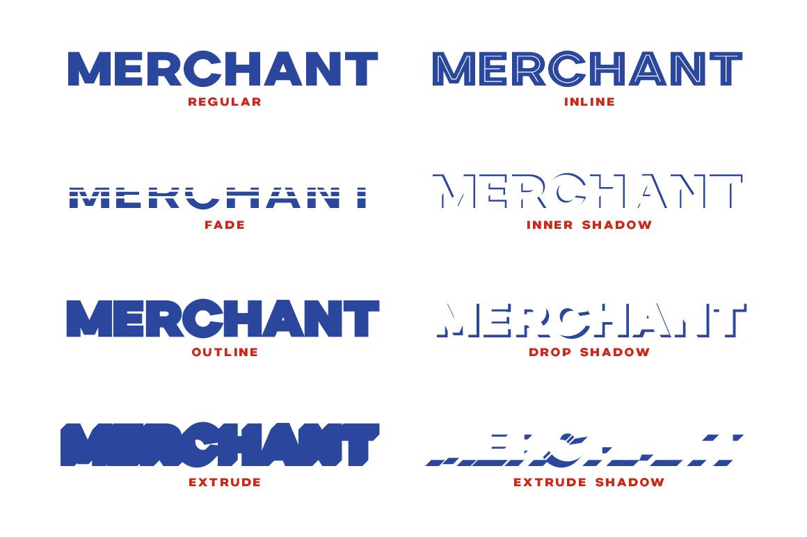Merchant Street Sans example image 2