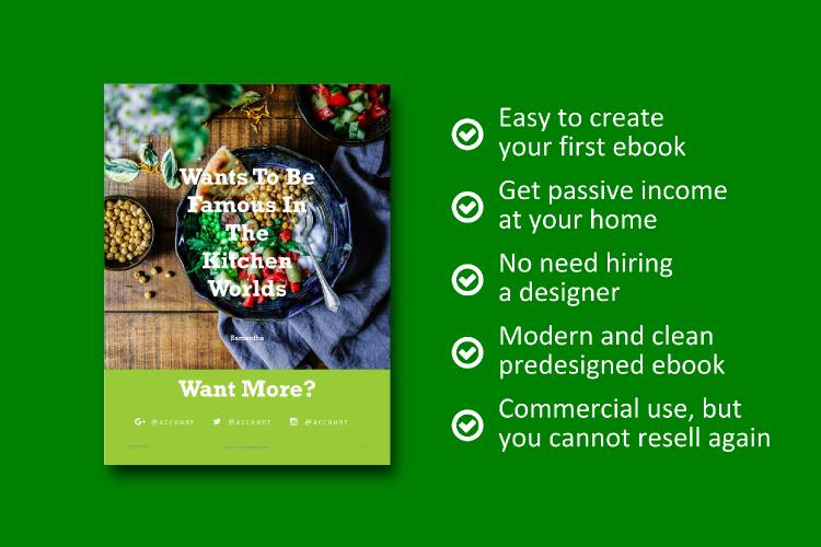 Recipe eBook Template - Vegan Recipe Theme example image 8