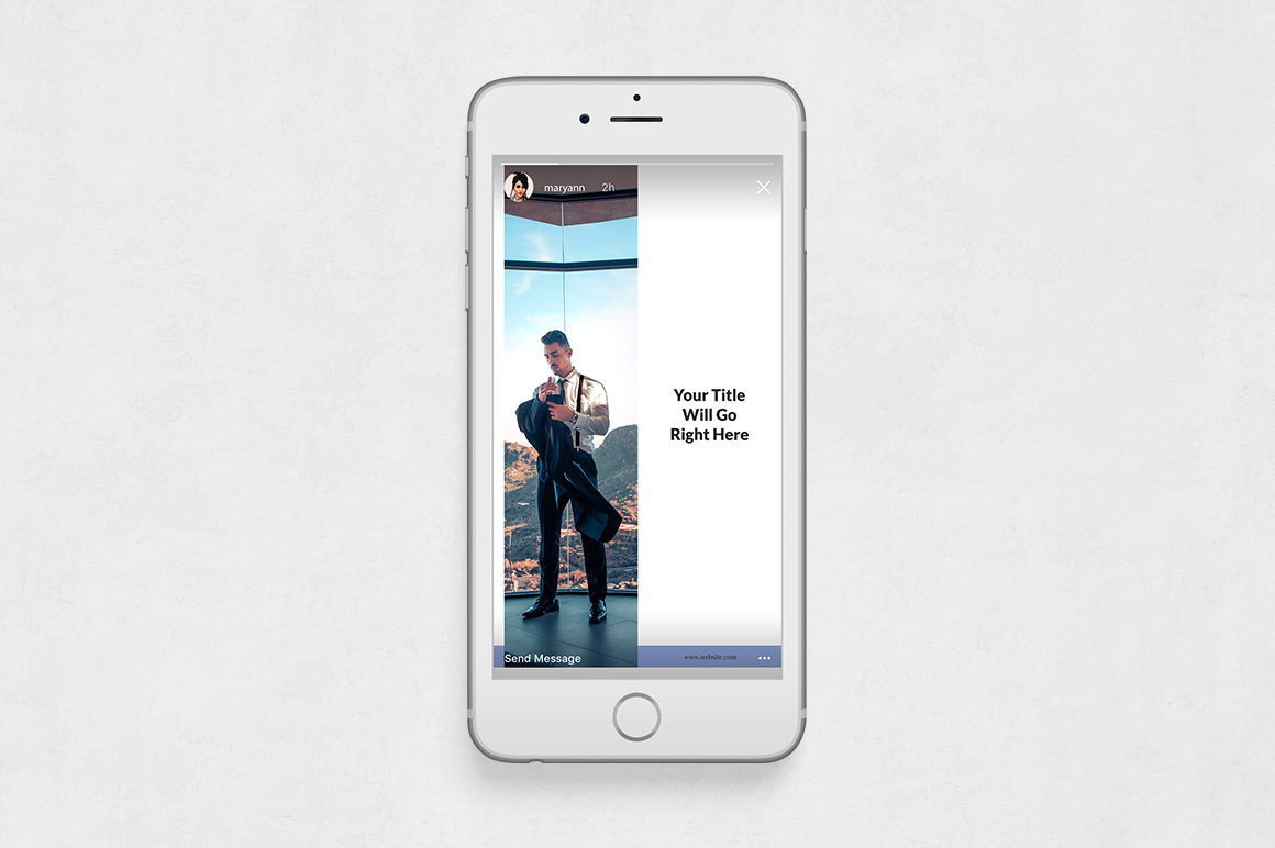 Boss Life Animated Instagram Stories example image 6