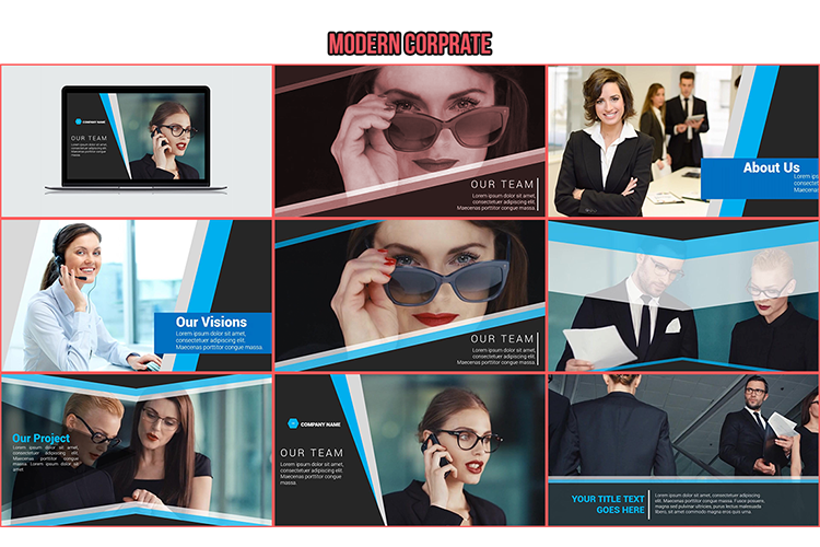 13 Modern PowerPoint Templates, make promotional video example image 2
