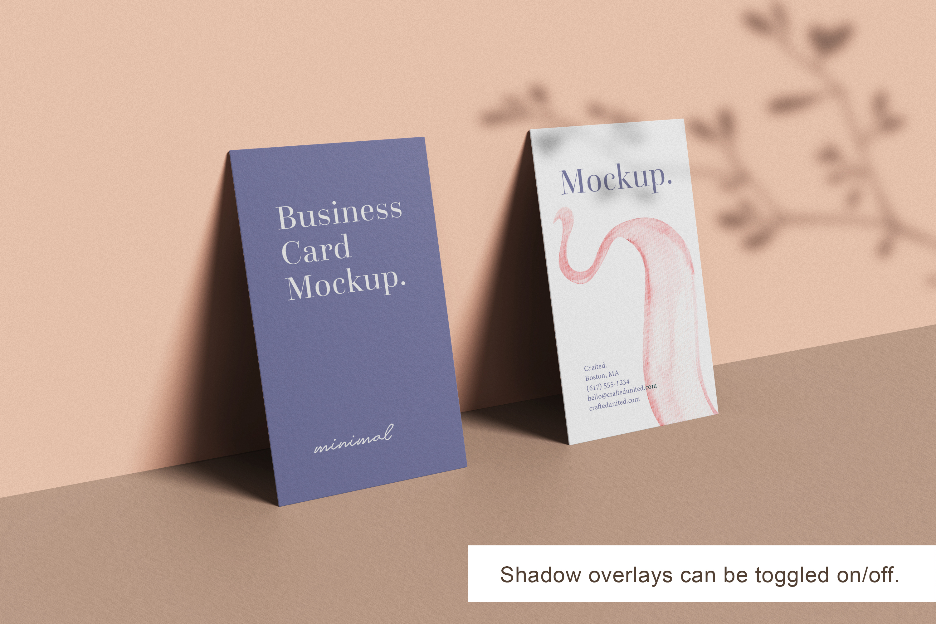 Modern Business Card Mockup example image 5