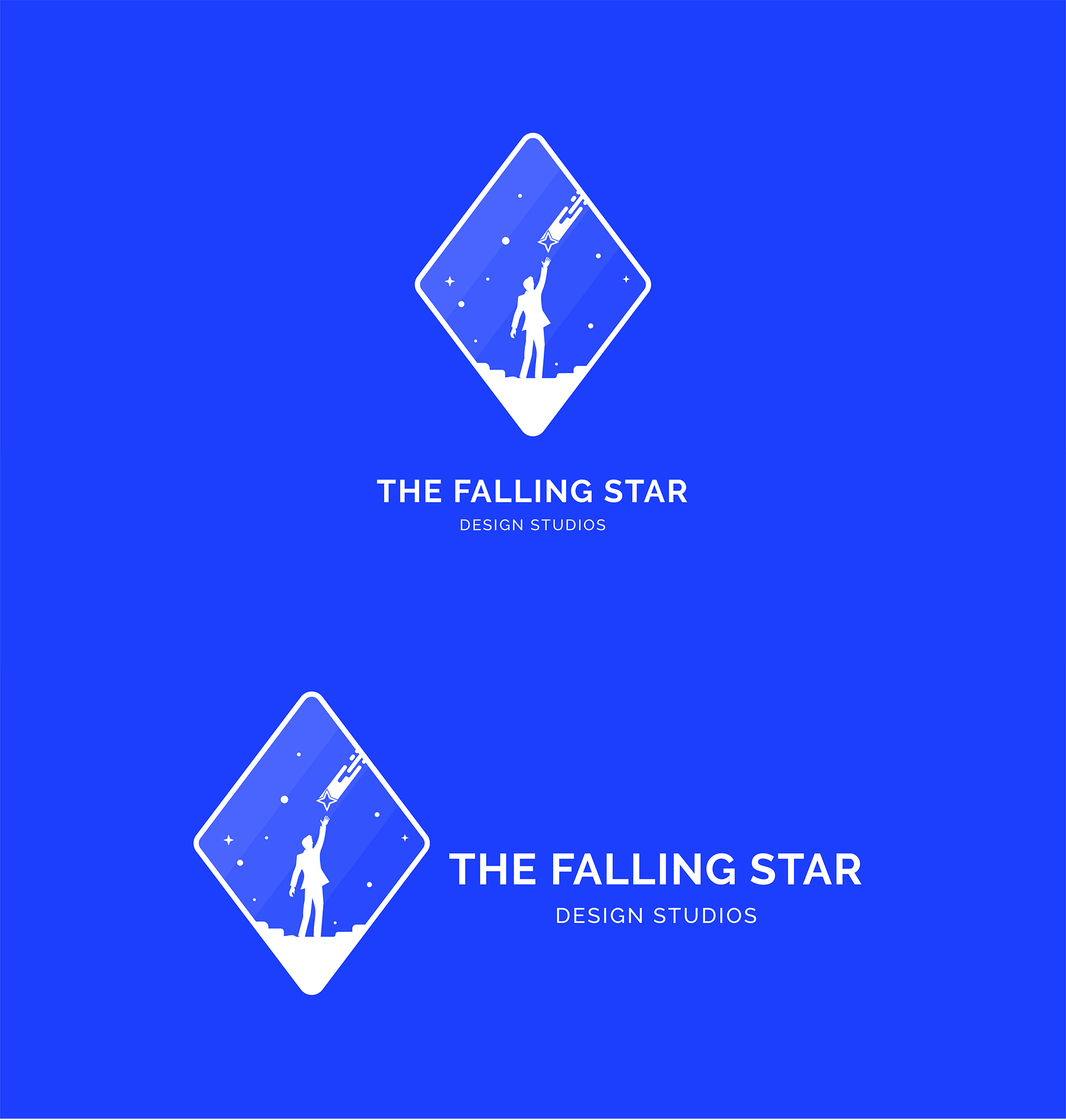Men Catch a Falling Star Logo example image 4