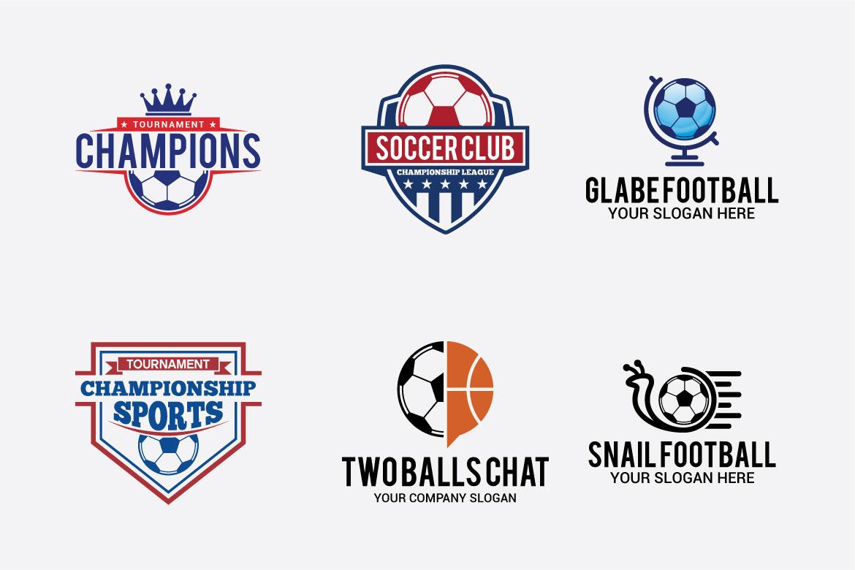 66 SPORTS Logo Templates BUNDLE example image 3