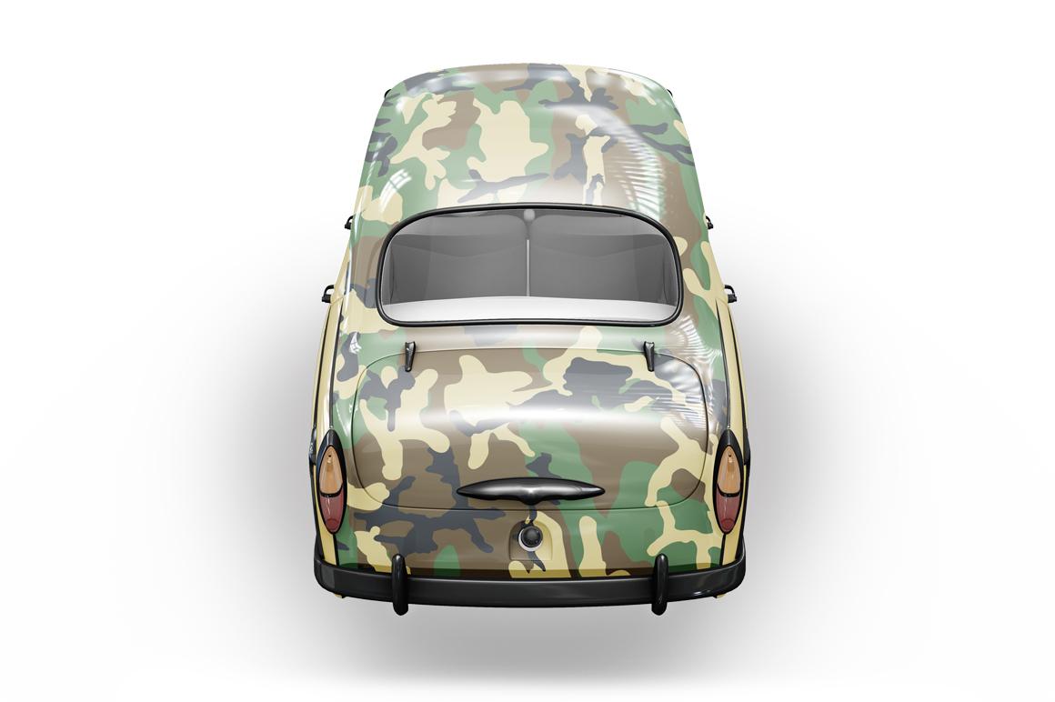 Vintage Car Mockup example image 14