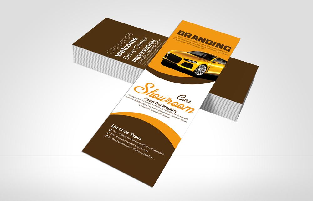 Car Dealer Rack card Template example image 3