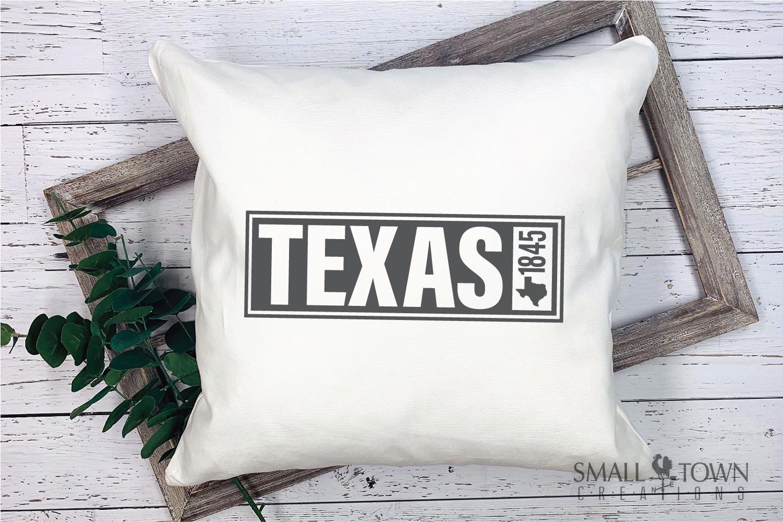 Texas, The Lone Star State slogan, logo, PRINT, CUT & DESIGN example image 9