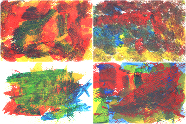 Abstract Acrylic Background example image 7