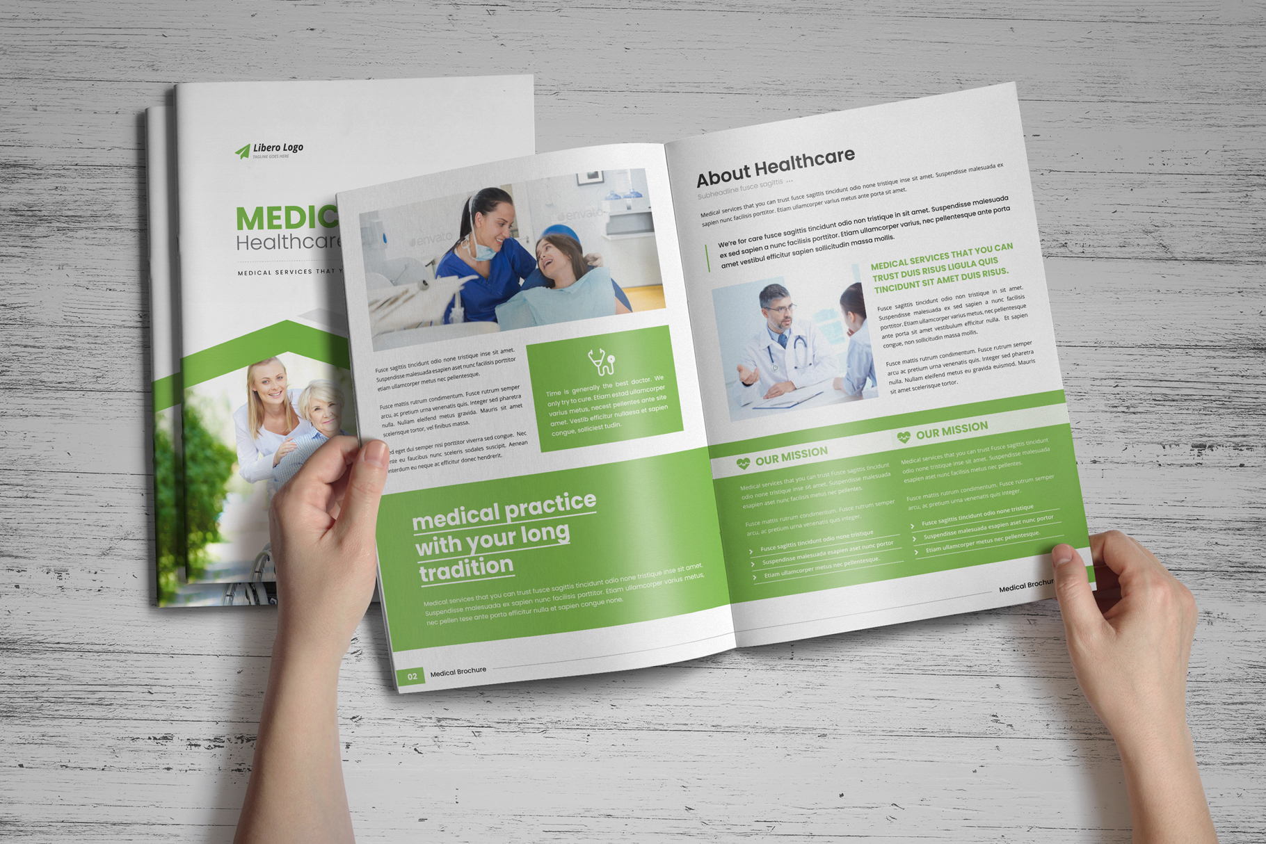 Medical HealthCare Brochure v6 example image 10