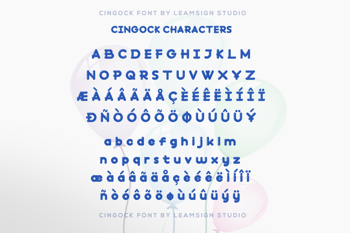 Cingock Font example image 5