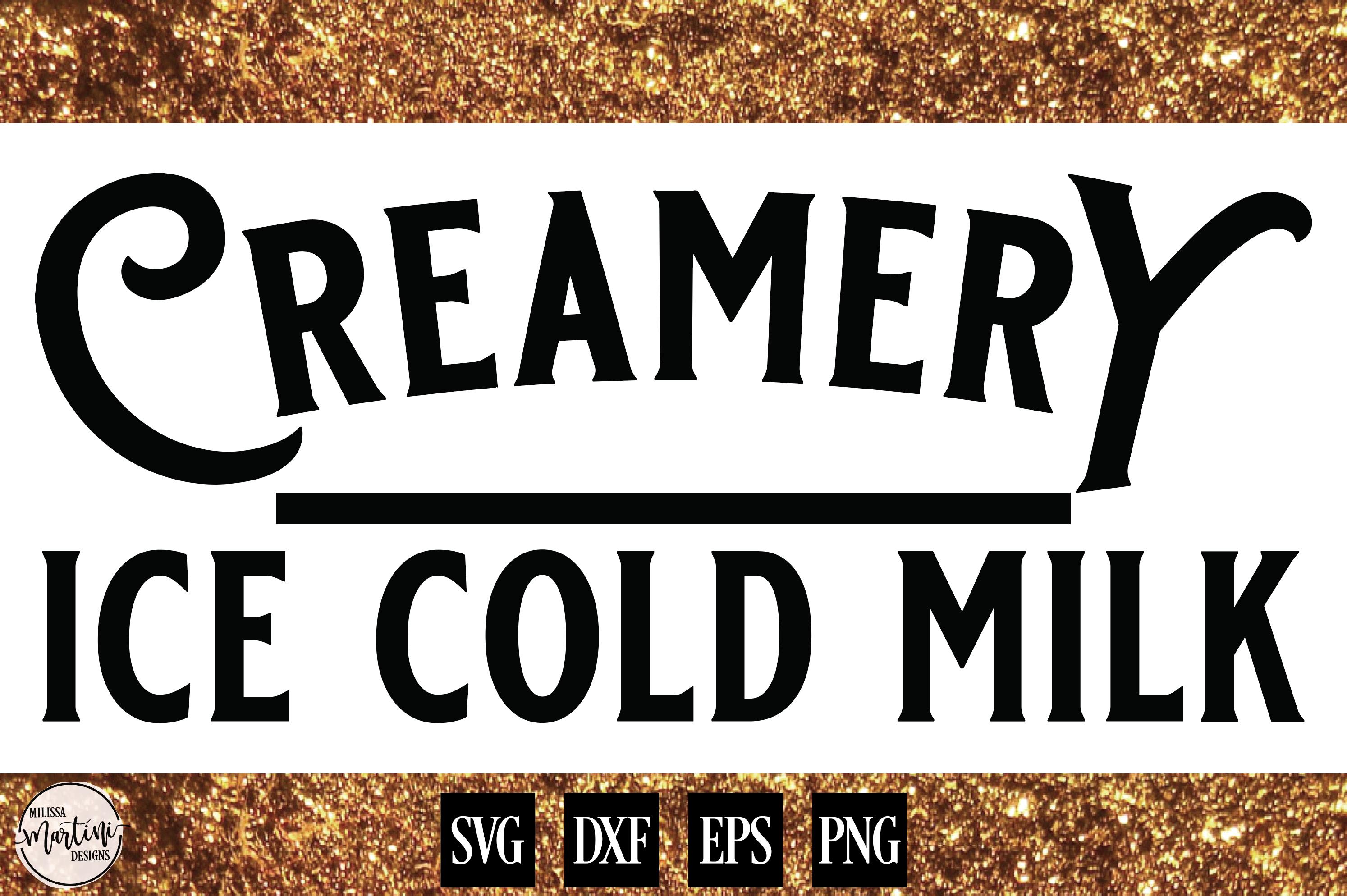 Creamery Ice Cold Milk example image 1