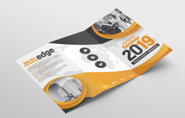 Marketing Seminar Tri-Fold Brochure Template example image 4