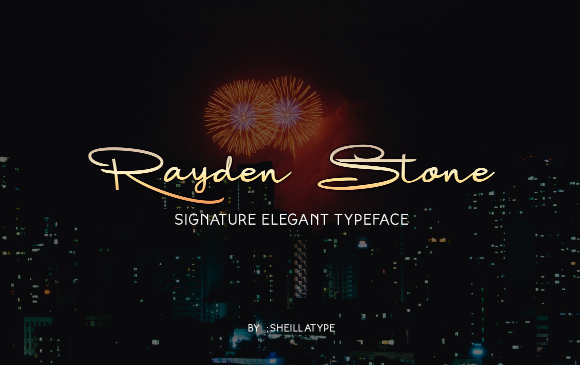 Raydenstone Signature Fonts example image 3