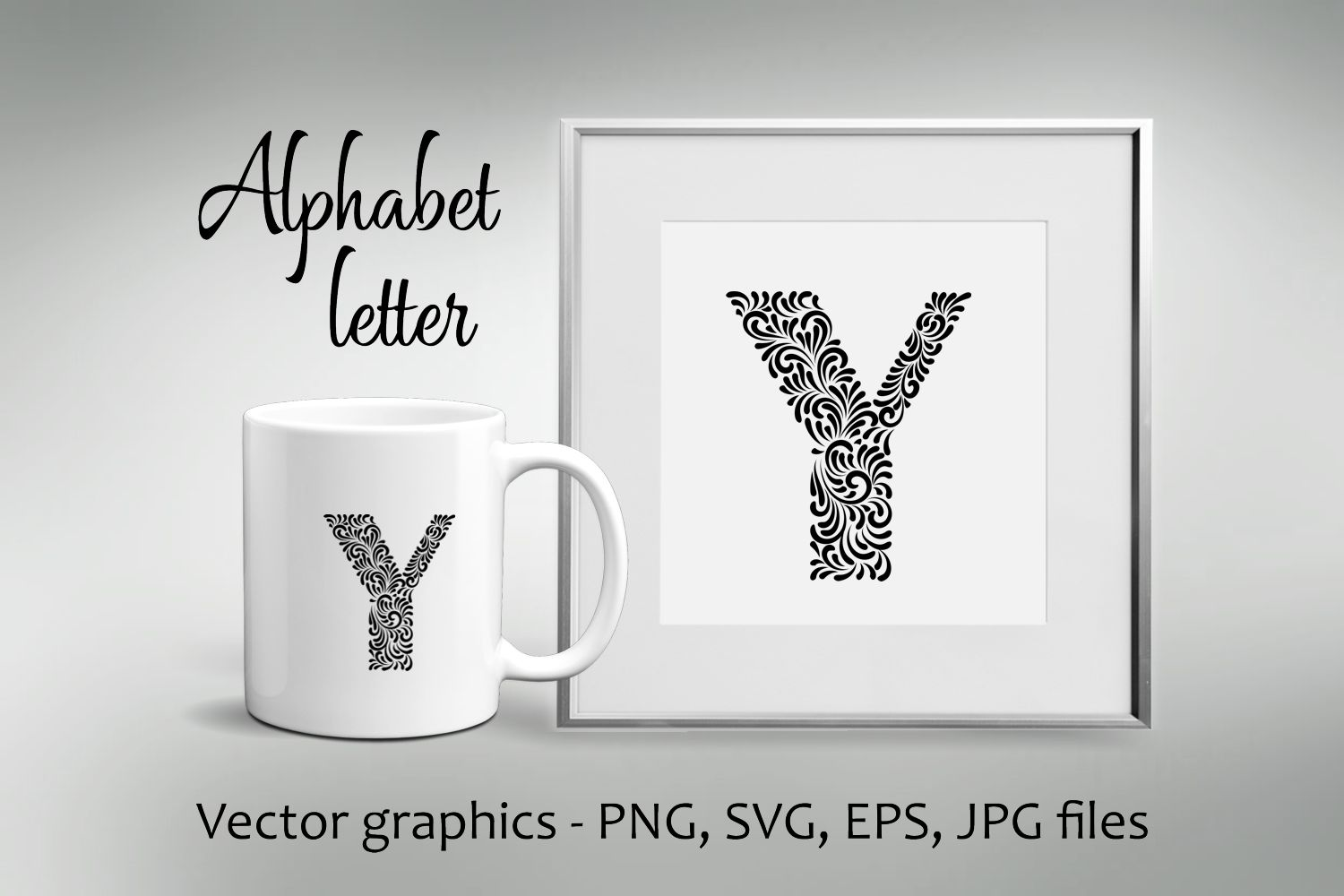 Alphabet Letter Y example image 1