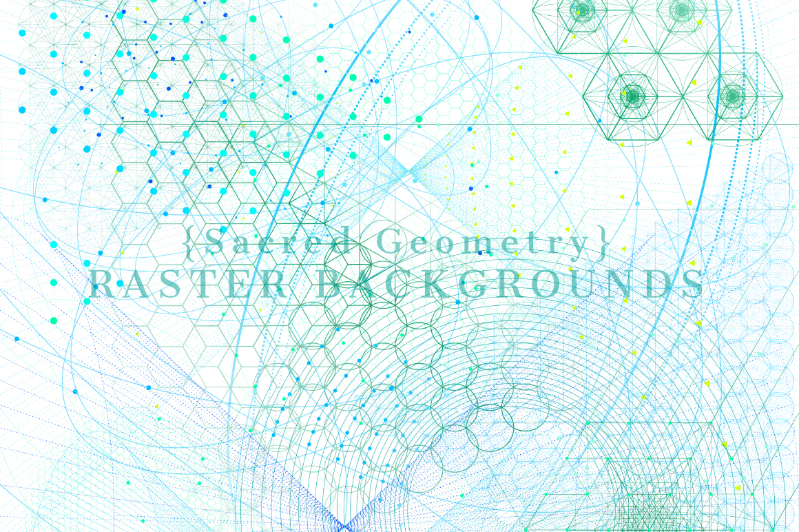 {Sacred Geometry} Raster Backgrounds example image 3