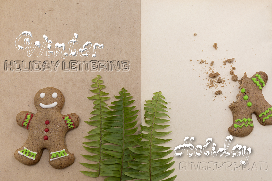 Three fonts for Christmas cards example image 6