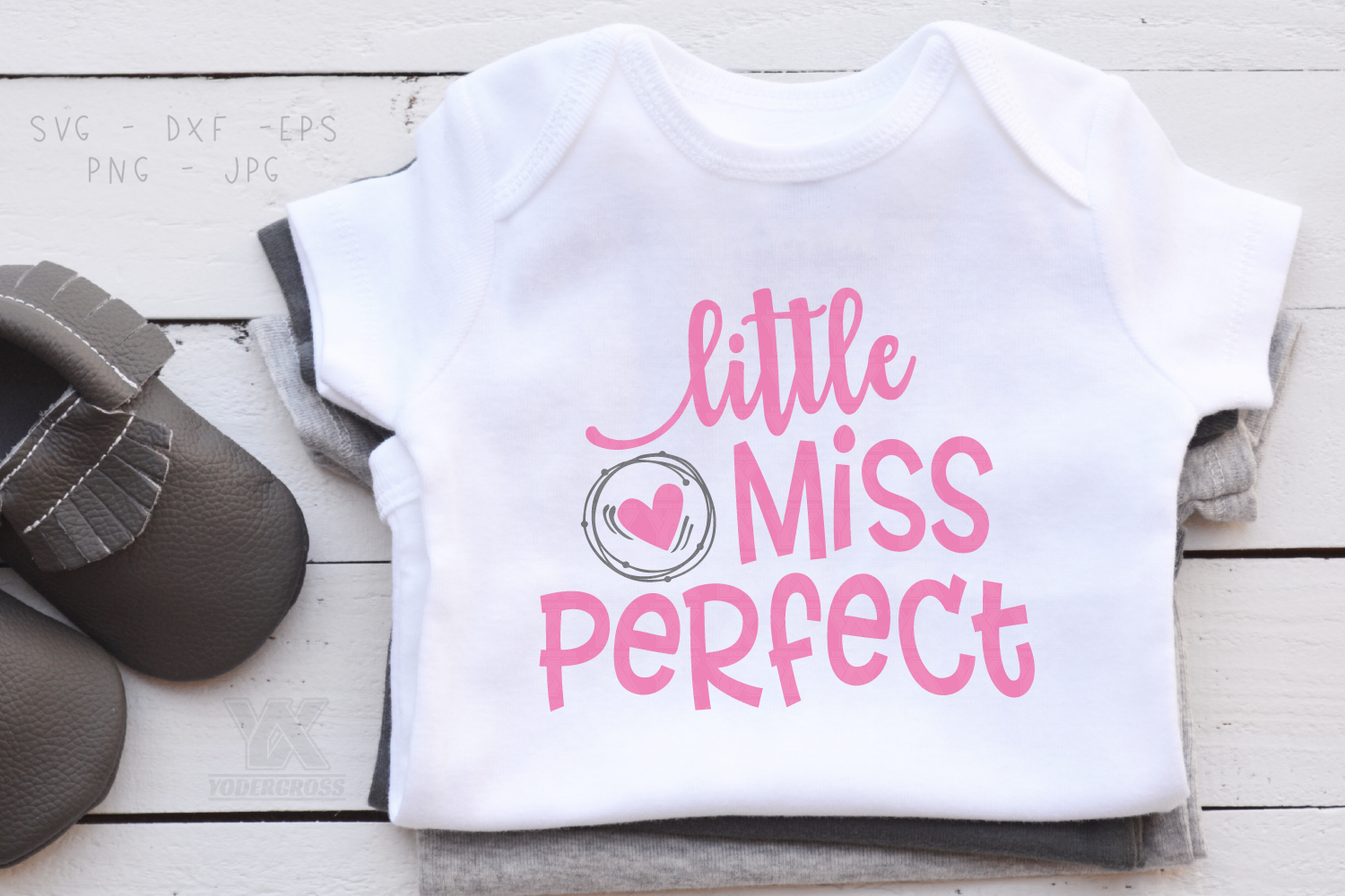 Little Miss Perfect SVG example image 2